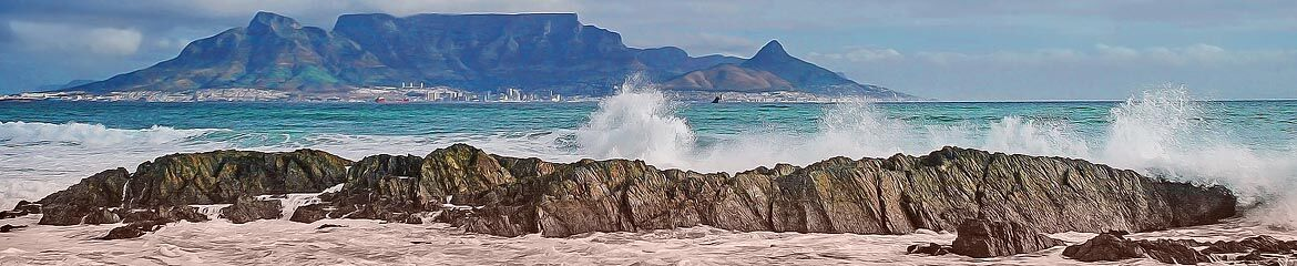 Bloubergstrand and Surrounding Accommodation footer banner