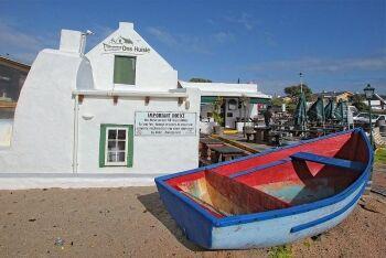 Ons Huisie restaurant, Bloubergstrand, Cape Town