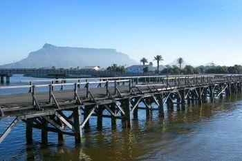 Old Wooden Bridge, Milnerton Lagoon, Milnerton, Cape Town